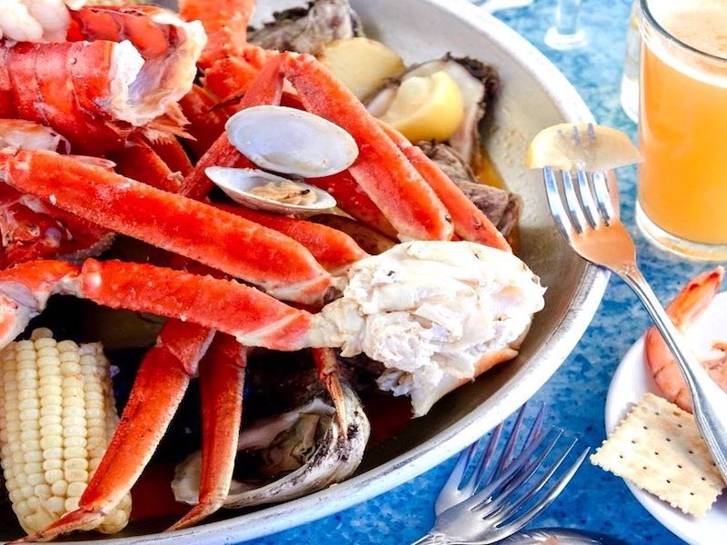 Black Marlin Crab Legs Food Delivered by #HHIFOOD #8437857155 #fooddelivery Frankie Bones, Poseidonq