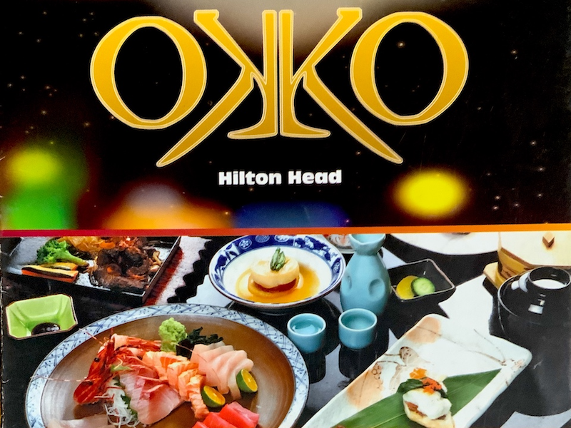 Okko Menu by Express Restaurant Delivery Hilton Head