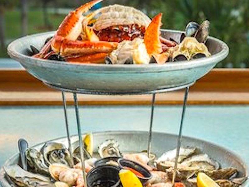 Poseidon Seafood Tower by Express Restaurant Delivery
