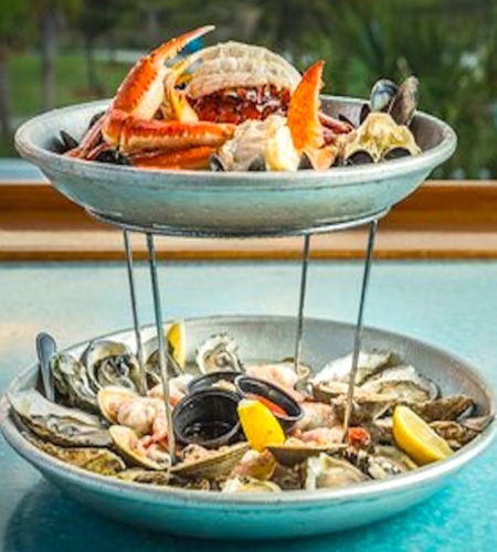 Seafood Tower by Express Restaurant Delivery