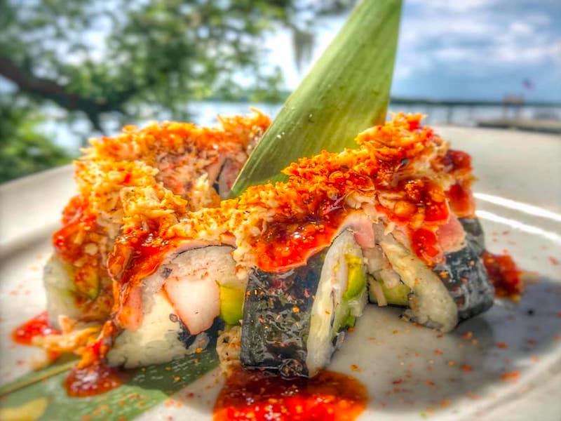 Skull Creek Boathouse food headerFood Delivered by #HHIFOOD #8437857155 #fooddelivery Frankie Bones, Poseidon