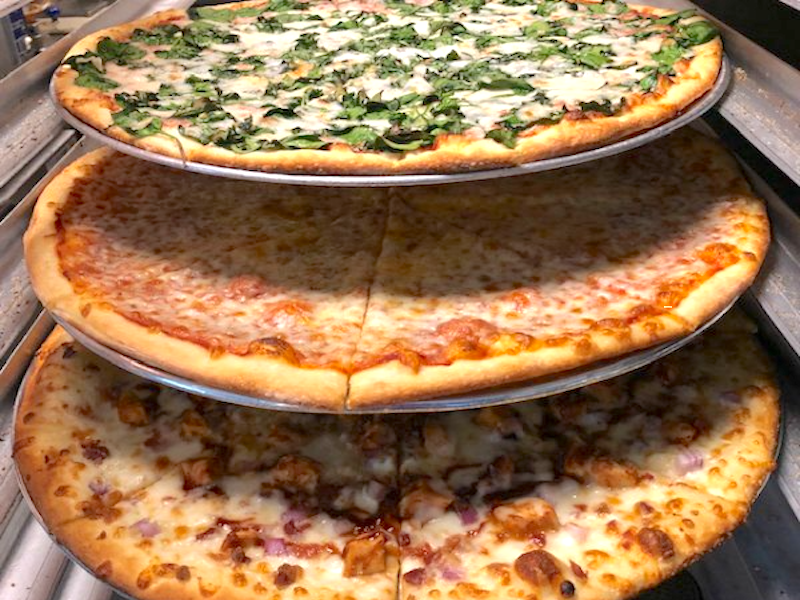 TJs Take and Bake Pizza 3 Pizzas Express Restaurant Delivery, Food Delivery Hilton Head